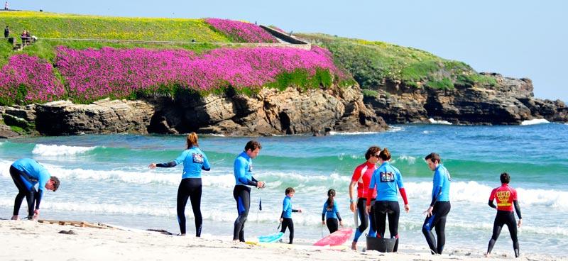 Clases de surf Foz Lugo