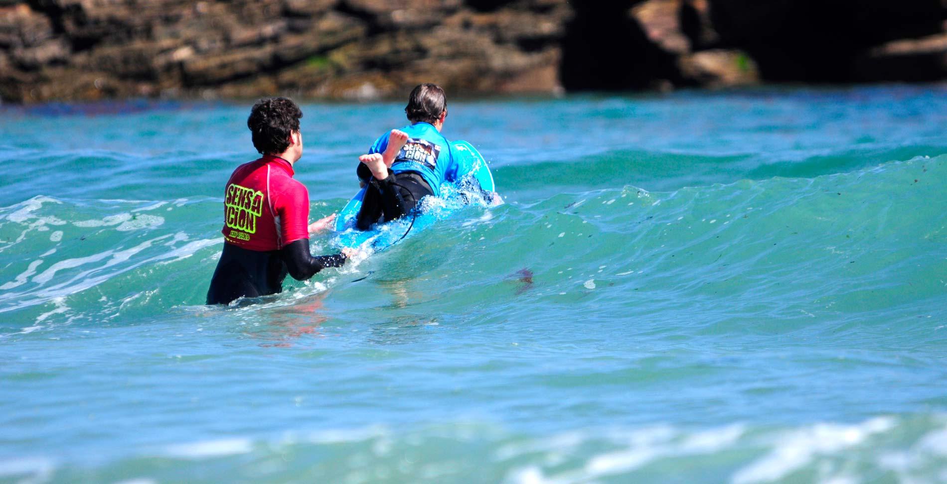 Escuela de Surf cerca de Viveiro