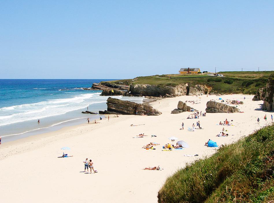 playa de a rapadoira y playa de longara clases de surf