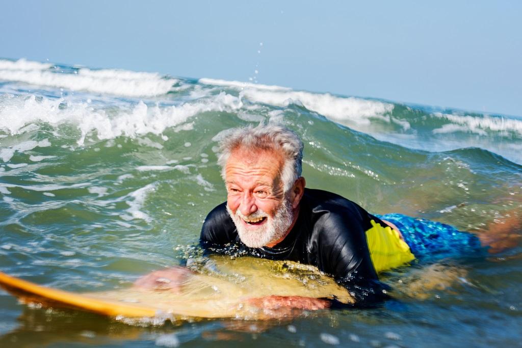 Hasta qué edad se pueden aprender a surfear