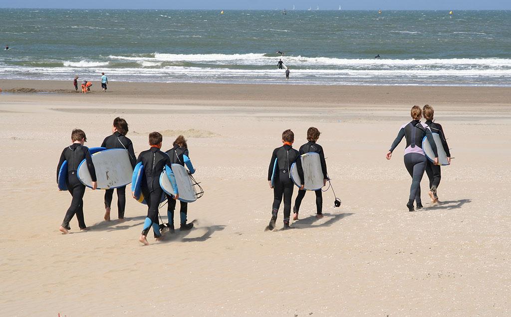 Campamentos surf en Galicia