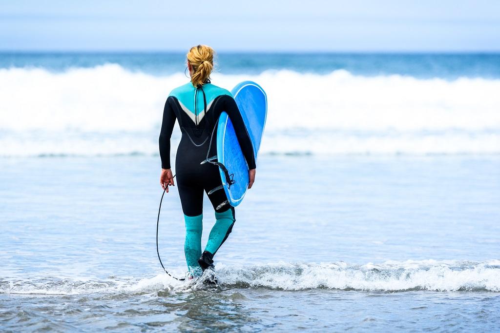 Dónde hacer surf en Galicia