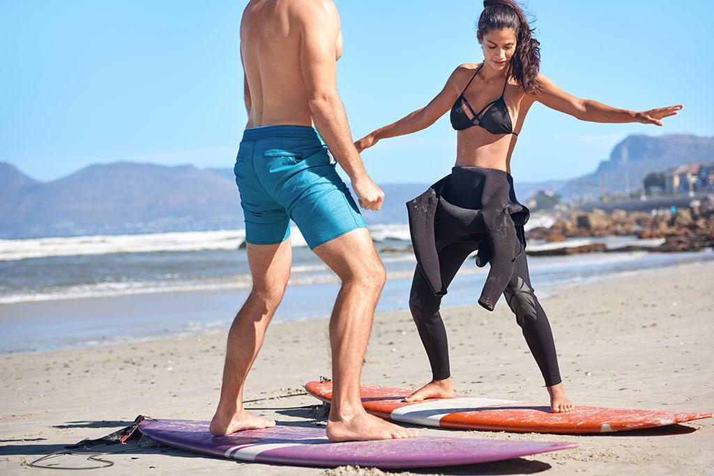 Curso de iniciación en surf