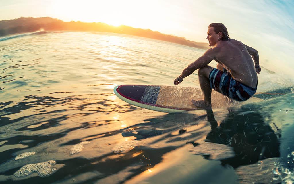 Beneficios del surf para el cuerpo