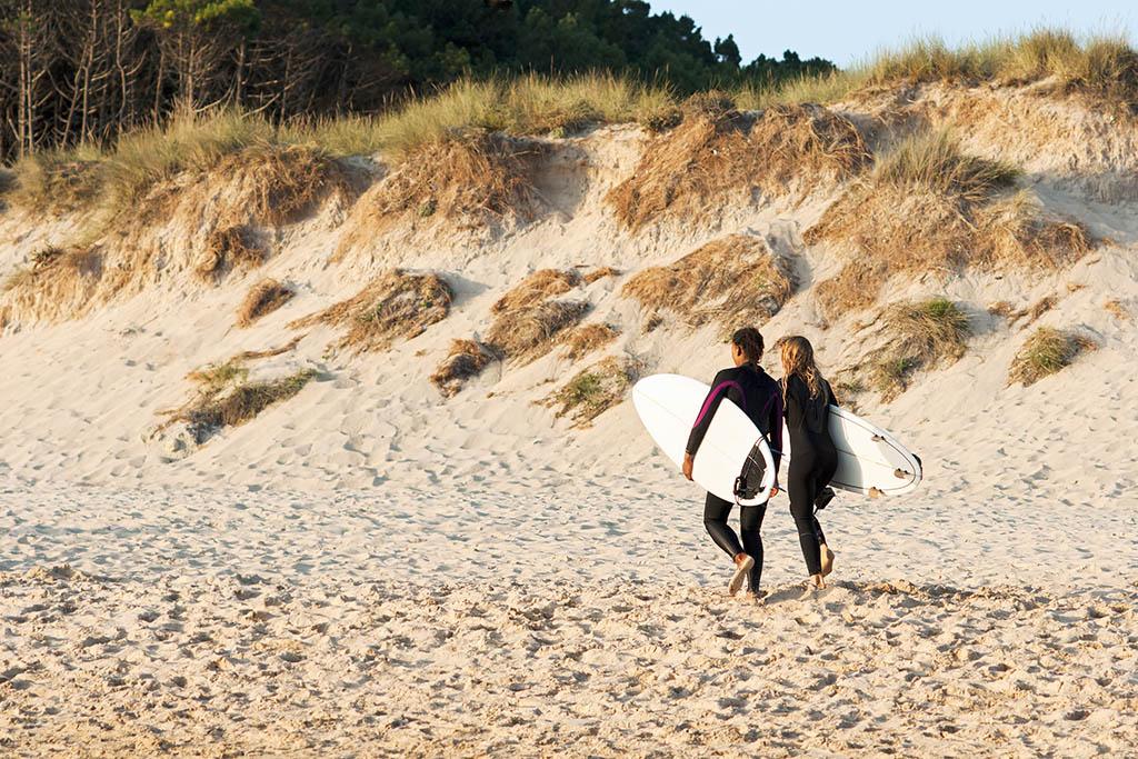 Cómo se vive el surf en Galicia