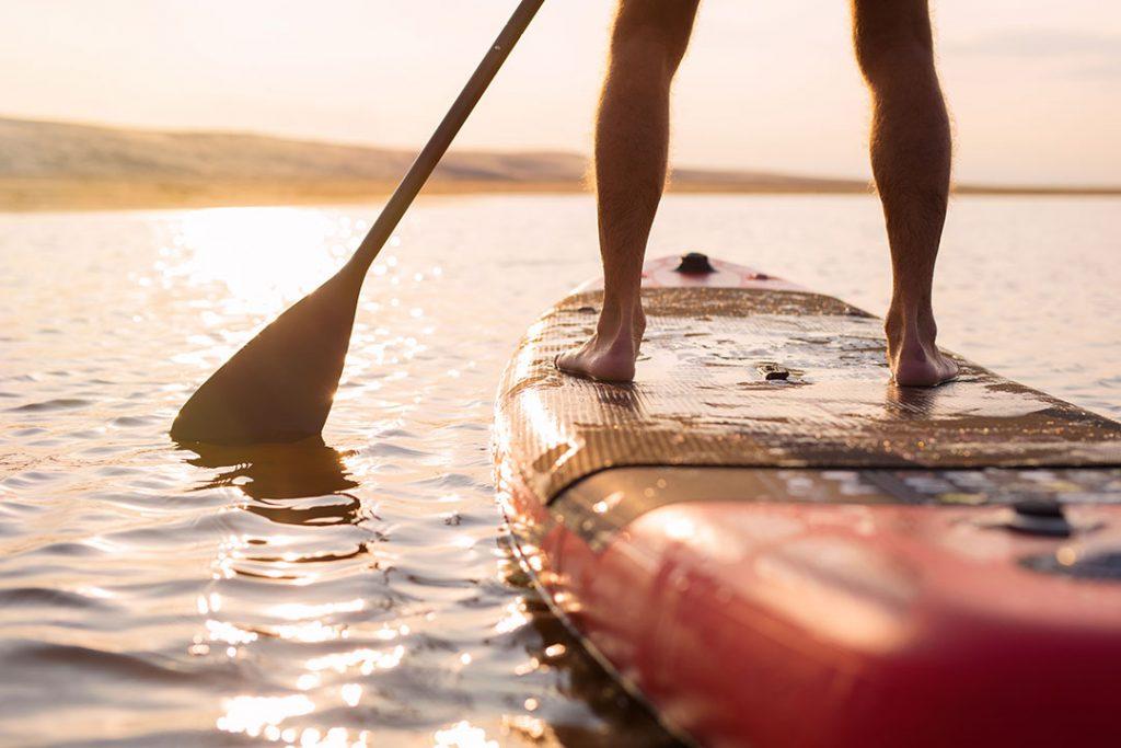 dónde se puede hacer paddle surf en Galicia