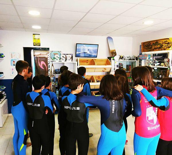 Tienda de surf en Lugo