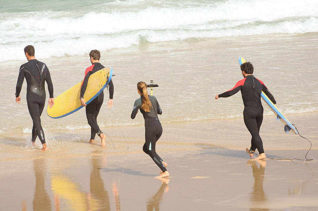 Precio del surf para principiantes en Galicia