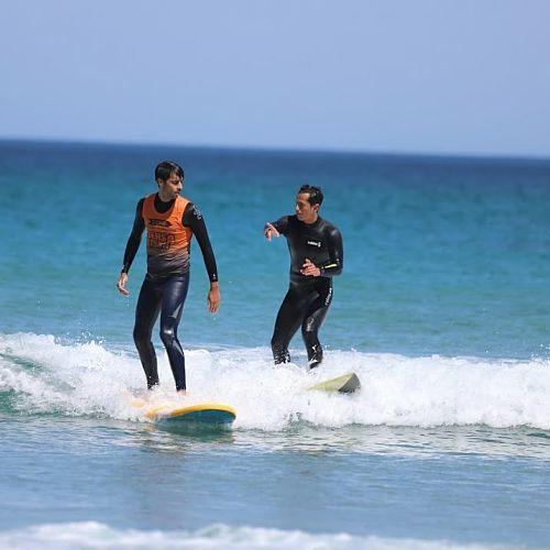 Cursos de surf individual en Lugo