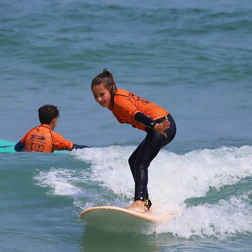 Tipos de cursos de surf
